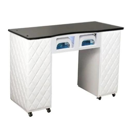 Le Beau Aussi (BUV) Manicure Table White Deco Salon - Manicure Tables