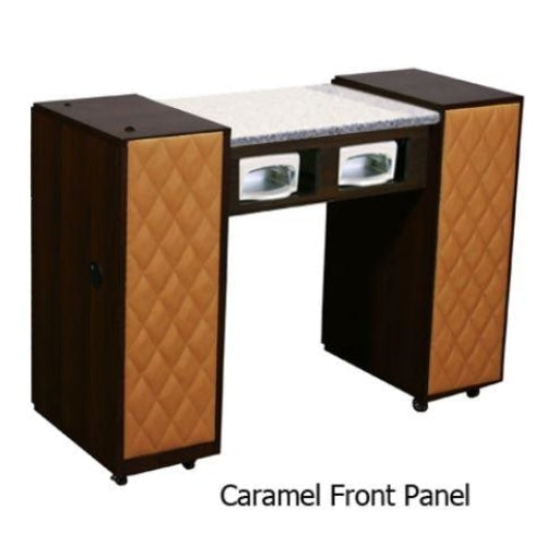 Le Beau (AUV) Manicure Table Chocolate Deco Salon - Manicure Tables