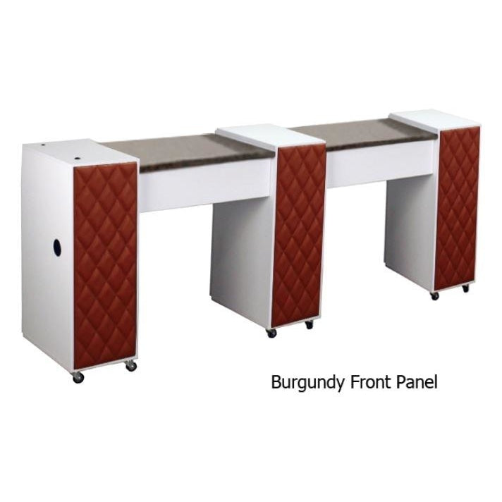 Le Beau (C) Manicure Table White Deco Salon - Manicure Tables