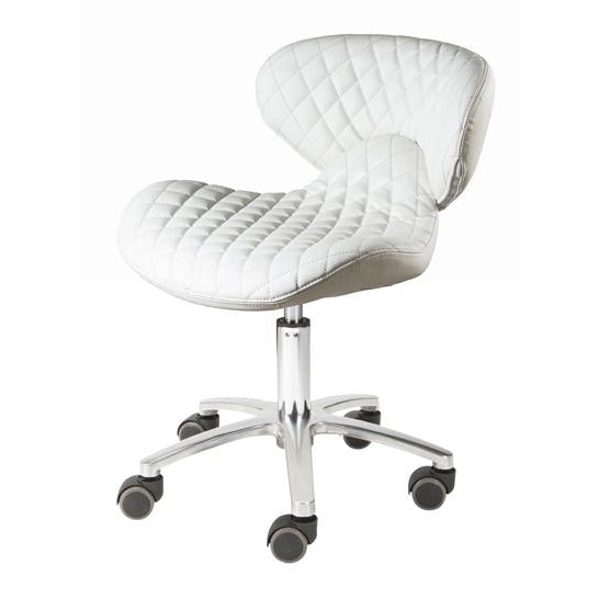 Lexi Pedicure Stool White Whale Spa - Stools
