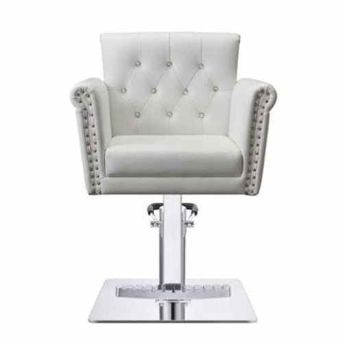 Lion Styling Chair White DIR - Styling Chairs