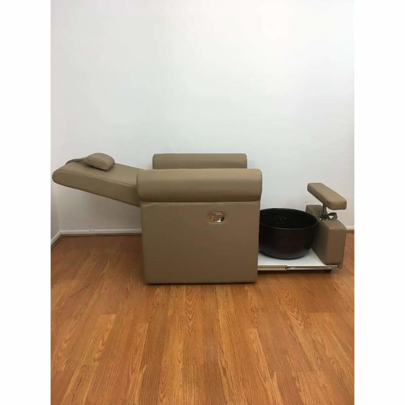 Lumina Pedicure Chair Dark Brown USA Salon & Spa - Pedicure Chairs