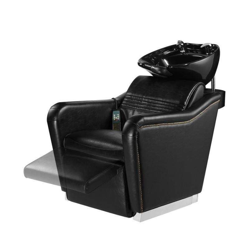 Massage Backwash with leg-rest and Styling Chair - Salon Package DIR 7853-1853 - Packages