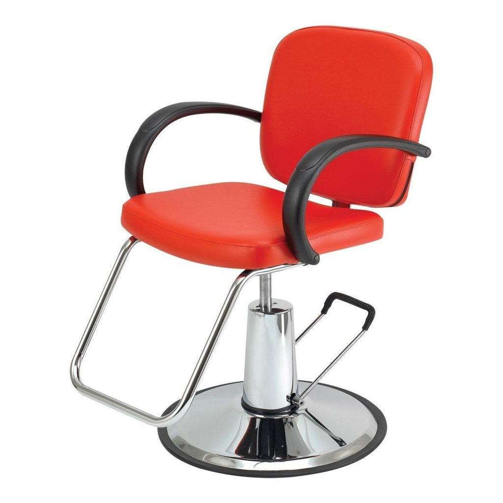 Messina Styling Chair Red Pibbs - Styling Chairs
