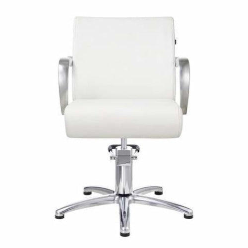 Meteor Styling Chair White DIR - Styling Chairs