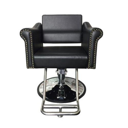 Milan Styling Chair Black Deco Salon - Styling Chairs