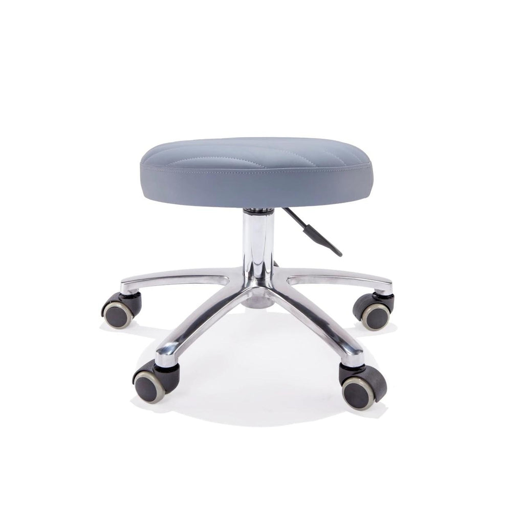 Nail Tech Stool Wide Medium Pump Belava - Stools