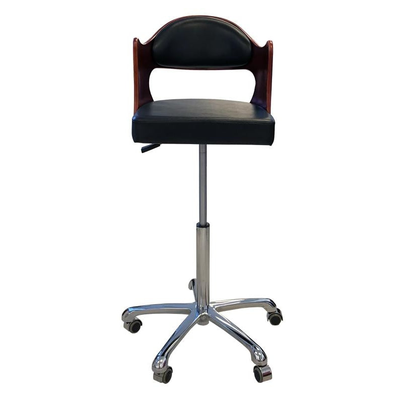 Nicci Extra High Cutting Stool Black Deco Salon - Stools
