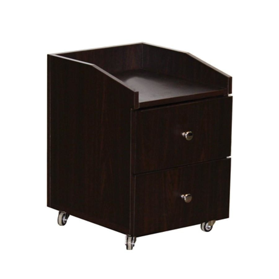 Nina Pedicure Cart Dark Cherry Deco Salon - Trolleys