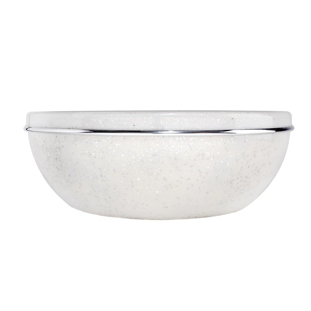 Pedicure Bowl in White Glitter Belava - Accessories
