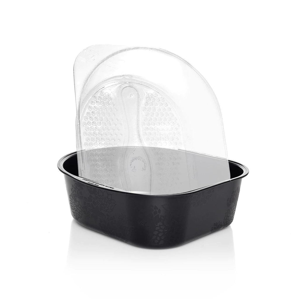 Pedicure Tub with Disposable Liners in Black Belava - Disposable Liners