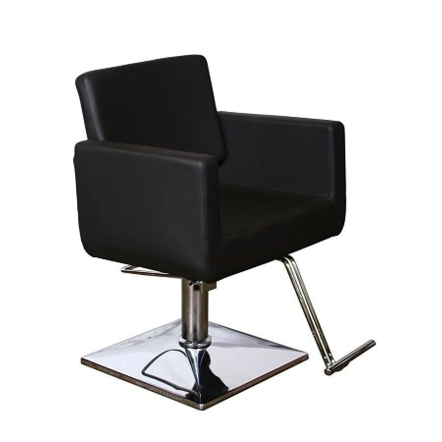 Piazza Styling Chair Black Deco Salon - Styling Chairs