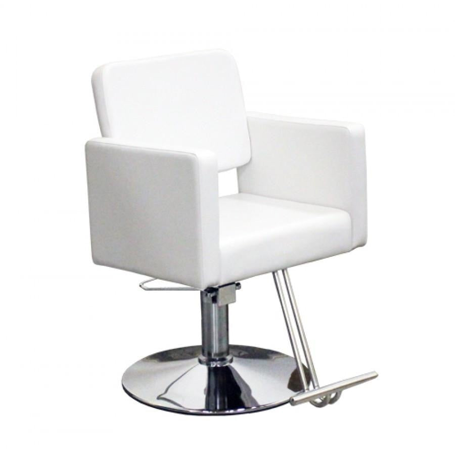 Piazza Styling Chair White Deco Salon - Styling Chairs