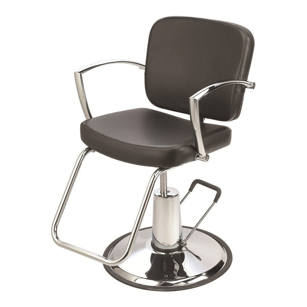 Pisa Styling Chair Brown Pibbs - Styling Chairs