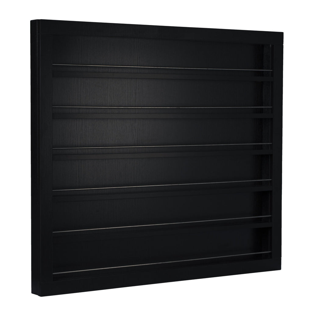 Polish Wall Rack PC03 in Black Whale Spa - Retail Displays