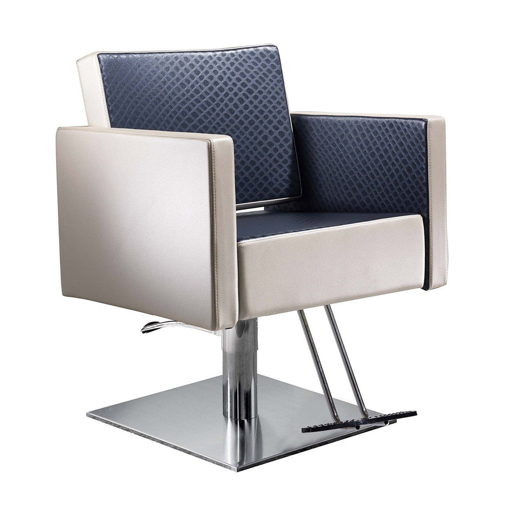 Square Styling Chair Salon Ambience - Styling Chairs