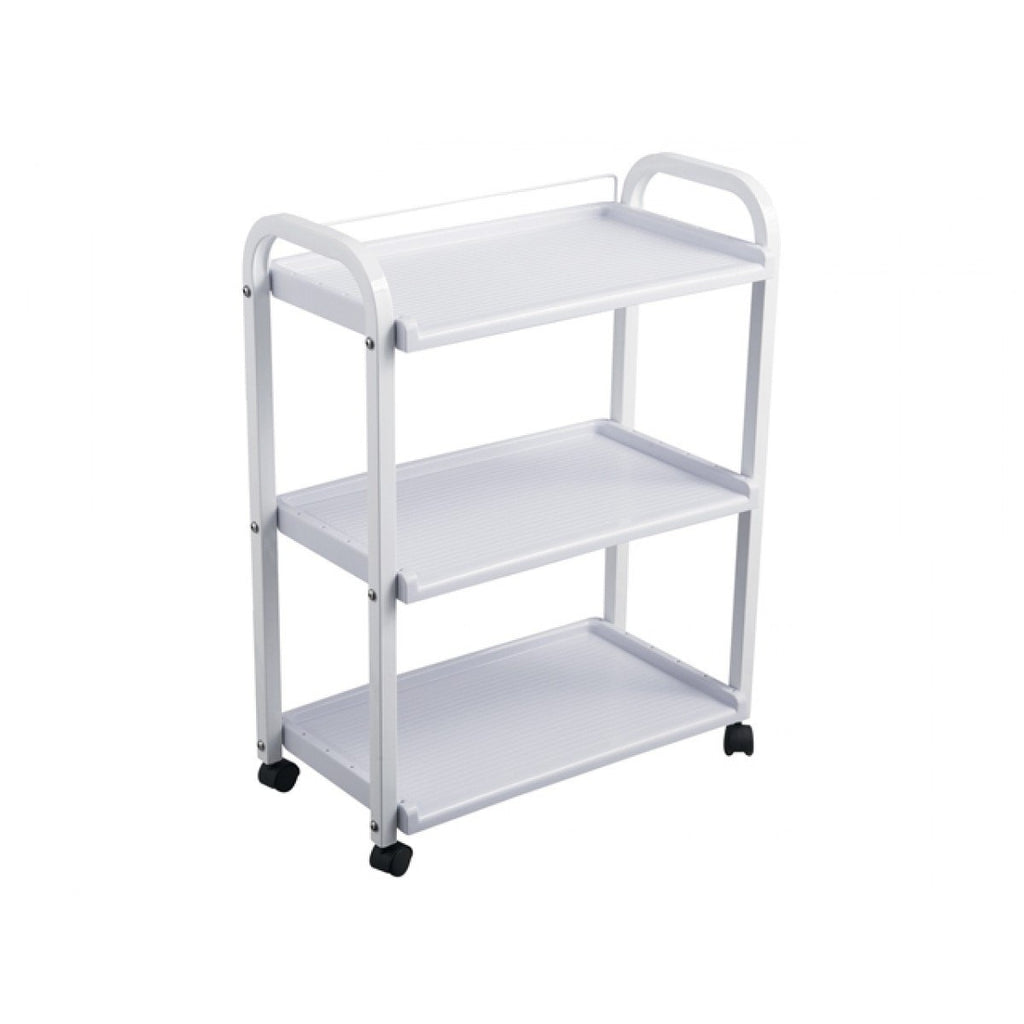 Stella Portable Salon Trolley Cart White AGS-F-031 AGS Beauty - Trolleys