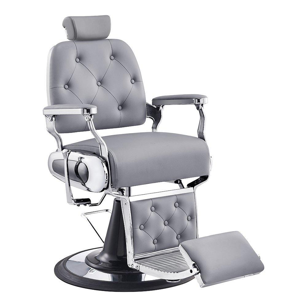 Titan Barber Chair Grey - Barber Chairs