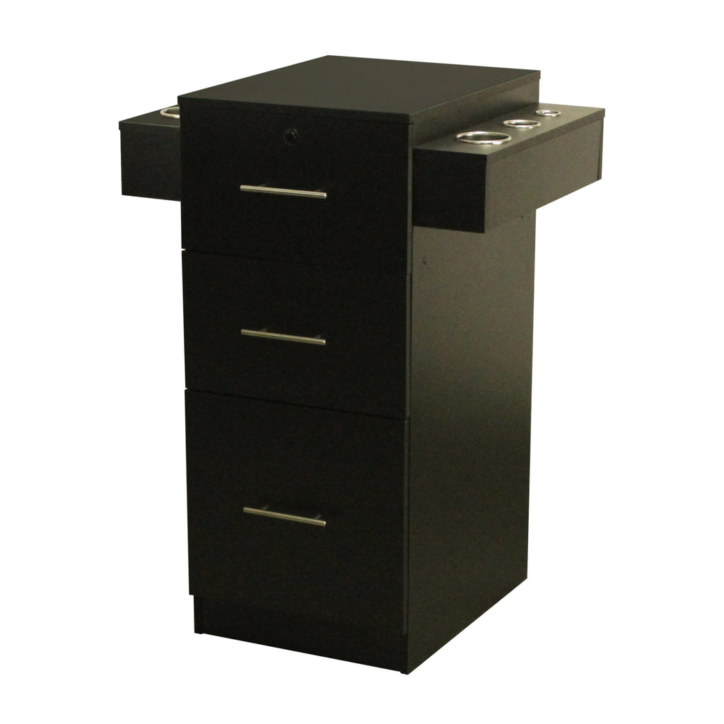 Vega Dual Styling Station Black Deco Salon - Styling Stations