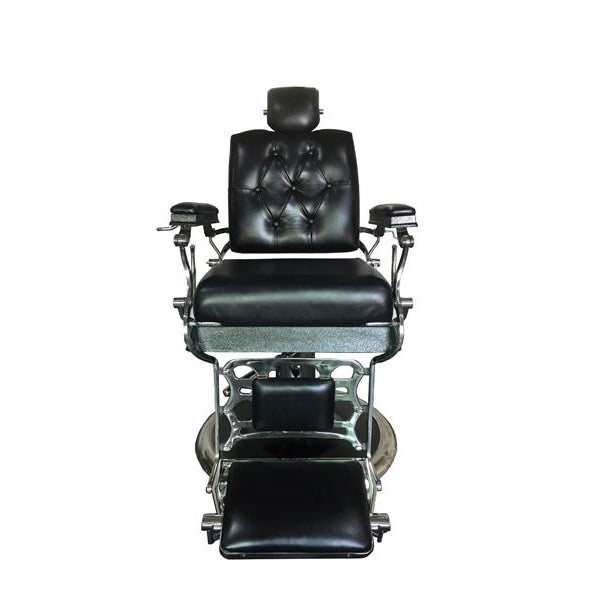 Outstanding Wellington Genuine Leather Barber Chair Ruby Red Deco Salon Dailytribune Chair Design For Home Dailytribuneorg