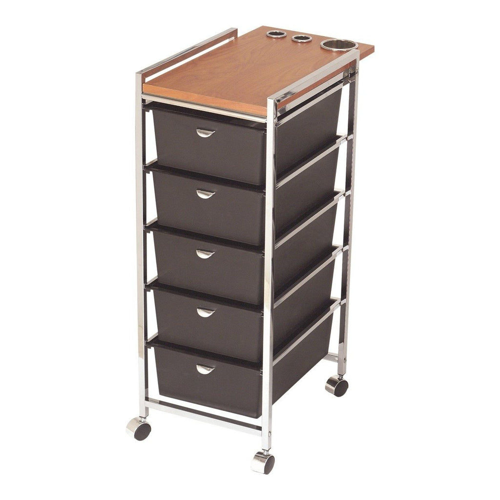 Wood Top Utility Cart D29 Pibbs - Trolleys