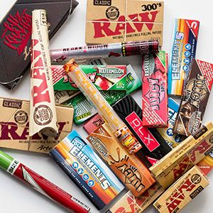 Rolling Papers , Cones , Blunt Wraps , Flavored ,All Popular Brands