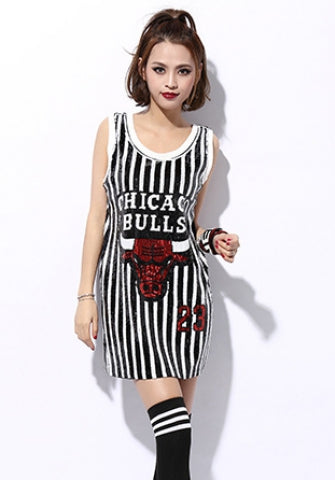 e708aafe2854 Chicago Bulls Sequin Jersey – The Baddie Factory