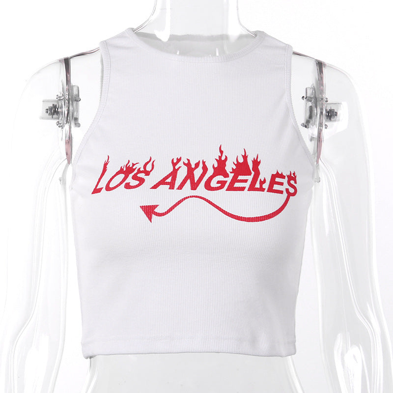 Los Angeles Crop Top