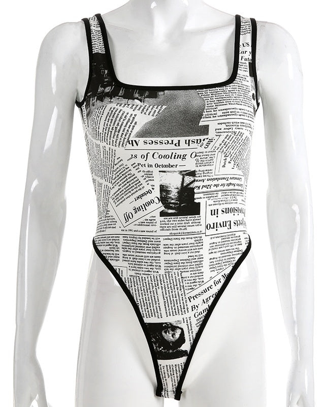 Breaking News Bodysuit