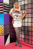 Milano Graphic T-Shirt Dress