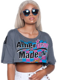 Made In The USA Crop Top