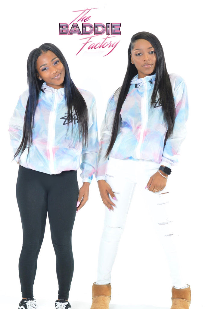 Cotton Candy Stussy Windbreaker