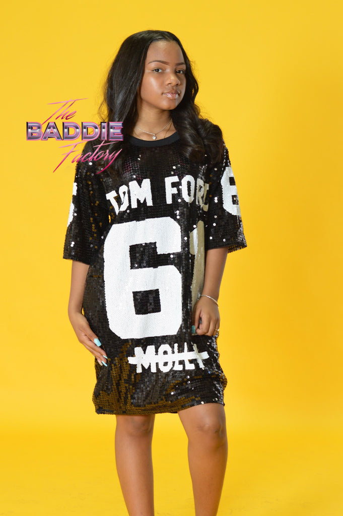 TF Sequin Jersey Dress
