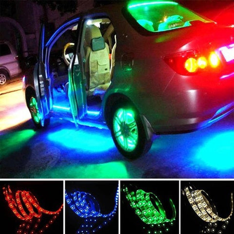Multi colour rgb led strip light led lighting kit with usb cable multi colour rgb led strip light led lighting kit with usb cable aloadofball Gallery