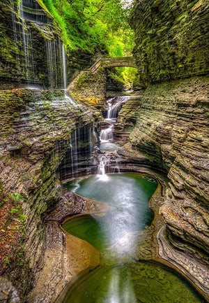 Watkins Glen - Framed Metal Print - MP030 - Driftless Studios