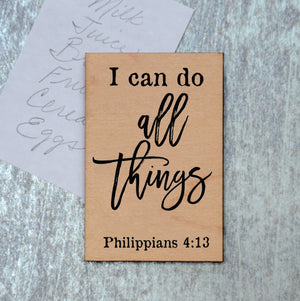 I can do all things Magnet - XM030 - Driftless Studios