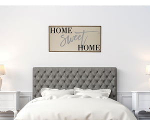 """Home Sweet Home"" Wood Sign - PW016 - Driftless Studios"