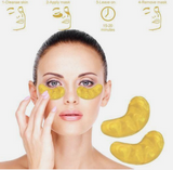 24 KARAT GOLD EYE MASK