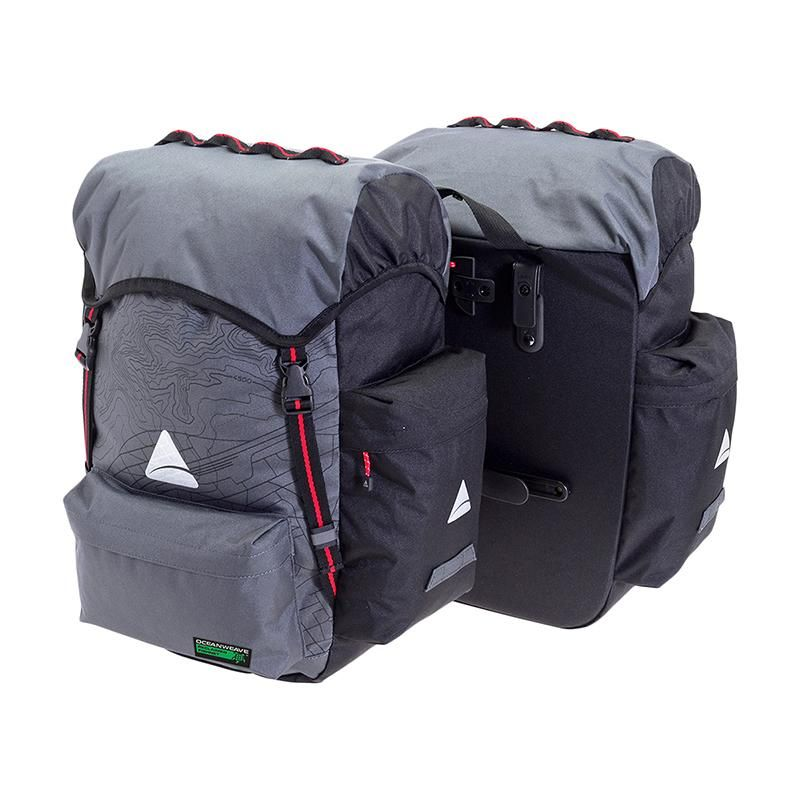 Oceanweave P35+ Pannier bags - Electric Cycling House