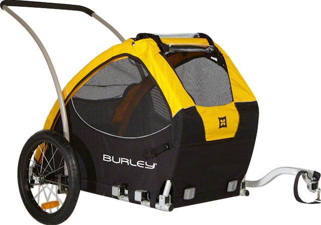 Burley+Burley Tail Wagon Dog and Pet Trailer - Electric Bikes