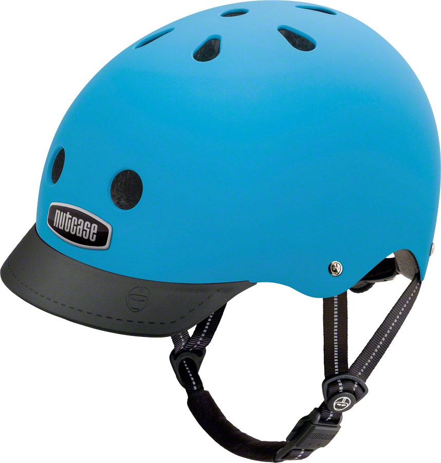 Street Helmet: Bay Blue Matte - Electric Cycling House