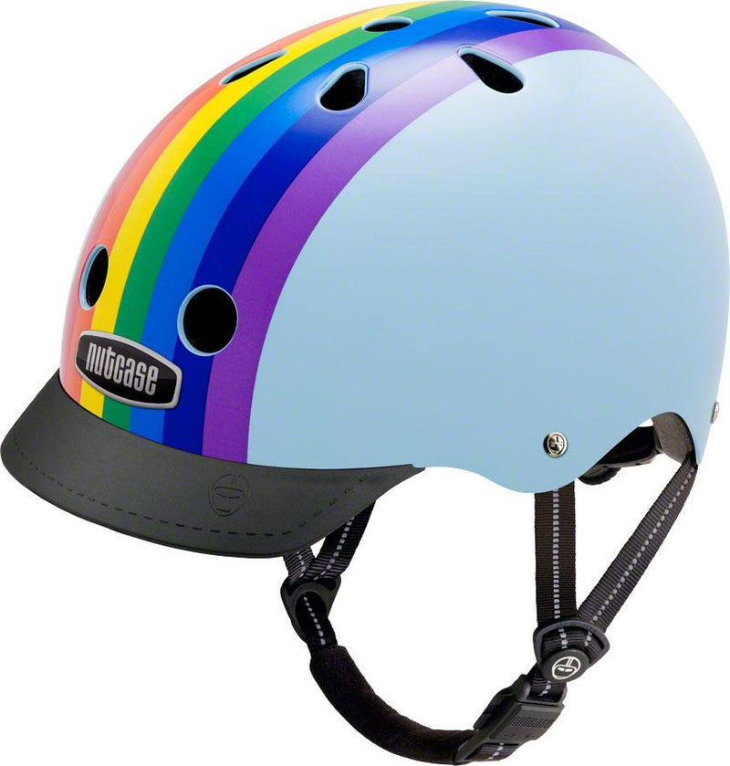 Street Helmet: Rainbow Sky - Electric Cycling House