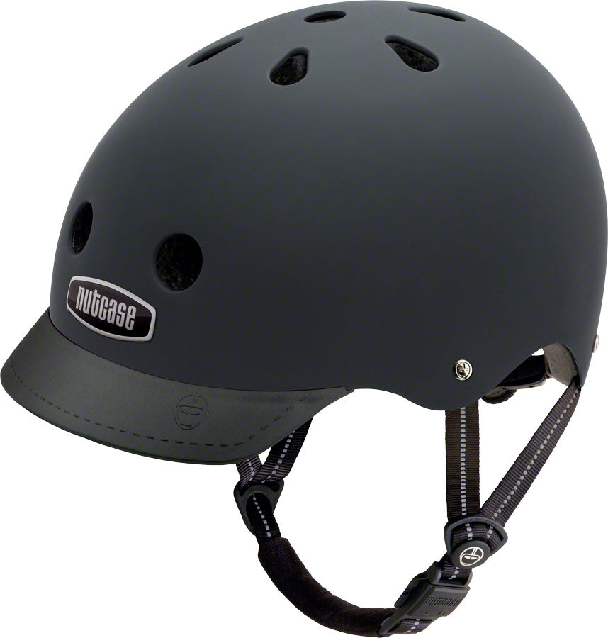 Street Helmet: Blackish Matte - Electric Cycling House