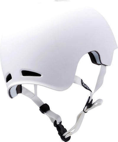 Kali Protectives+Viva Helmet: Solid White - Electric Cycling House