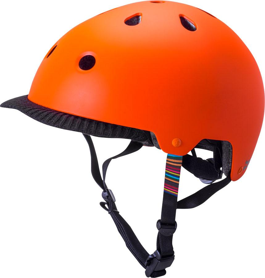 Saha Helmet: Spell Matte Orange - Electric Cycling House