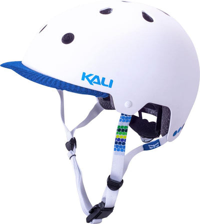 Saha Helmet: Sunny Matte White - Electric Cycling House