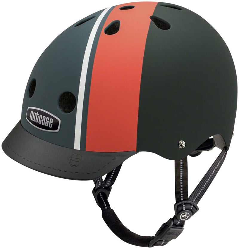 Street Helmet: Element Stripe Matte - Electric Cycling House