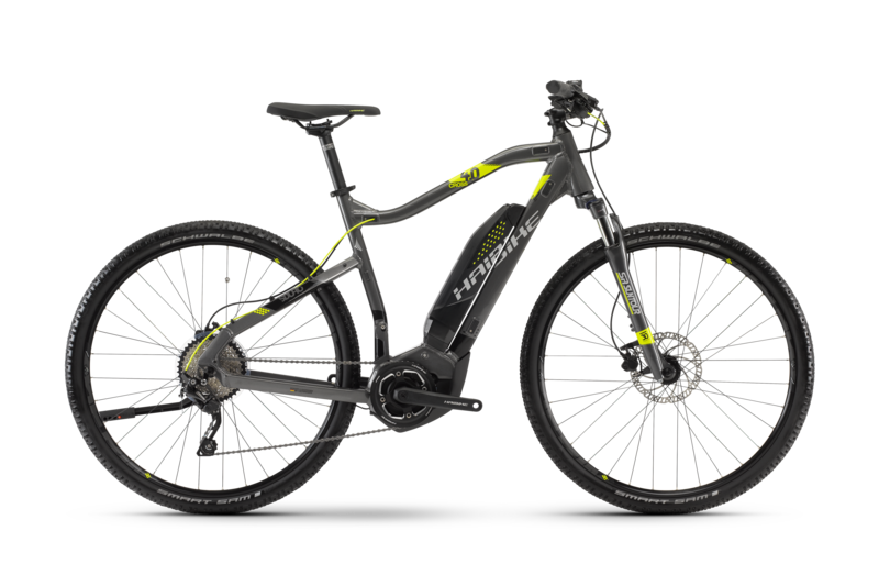 Haibike+SDURO Cross 4.0 High-Step  2018 - Electric Bikes