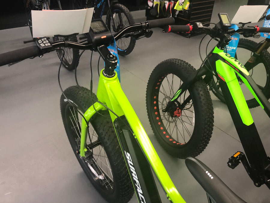 Surface 604+Boar Electric Fat Bike *DEMO* (2017) - Electric Bikes