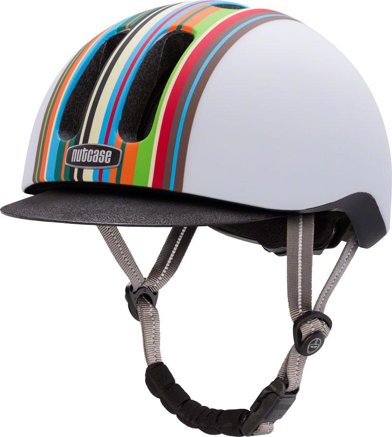 Metroride Bike Helmet: Technicolor Matte - Electric Cycling House